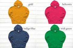 Hoodie Mockup Bundle Gildan 18500 Basic hoodie mockups Product Image 4