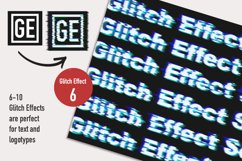 Glitch Effect Set for Photoshop. Product Image 6