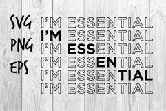 I'm Essential SVG design Product Image 1