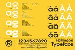 Cosmopolis - Sans serif font family Product Image 5
