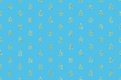 Blue Glitter Geometric Digital Papers Product Image 3