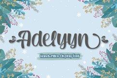 Adelyyn Display Font Product Image 1