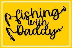 Happy Fishing - A Fishing Pole Font Product Image 7