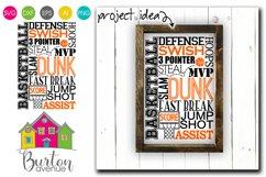 Basketball Subway Art SVG File Product Image 1