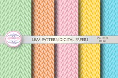 LEAF PATTERN DIGITAL PAPERS Product Image 1