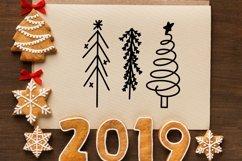 Web Font Christmas Tree Farm - A Dingbat Font Product Image 2