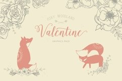 Foxy Woodland Valentine Collection Product Image 1