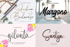New Year Big Bundle - Crafting Fonts Collection Product Image 5