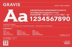 Gravis - Serif font family Product Image 4