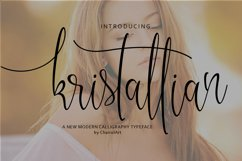 Kristallian Script Product Image 1