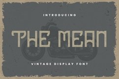 The Mean Font Product Image 1