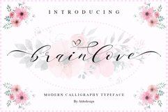 Brainlove - Beautiful Script Product Image 1