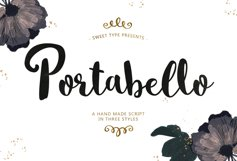 Portabello Script Product Image 1