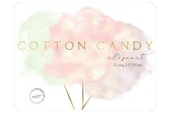Cotton Candy Clipart Product Image 1
