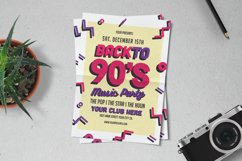 90s Music Party Flyer Product Image 1