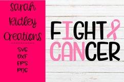 I Can Fight Cancer Svg, Cancer Svg, Cancer Awareness Product Image 3