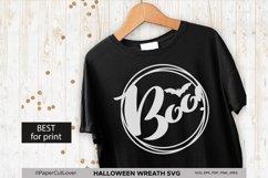 Halloween wreath SVG Set, Pumpkin Thanksgiving SVG Product Image 5