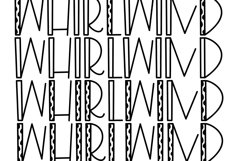 Whirlwind - A Fun Handwritten Font Product Image 4