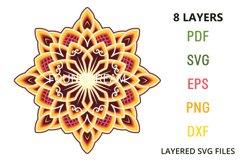 8 layers Mandala Product Image 3