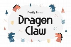 Web Font Dragon Claw Product Image 1