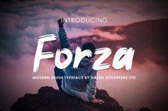 Forza - Brush Typeface Font Product Image 1