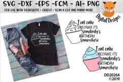 Funny Birthday Cake SVG Product Image 1