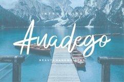 Anadego | Beauty Handwritten Script Font Product Image 1