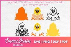 CHEEP THE CHICK SVG 2 MANDALA ZENTANGLE DESIGNS Product Image 3