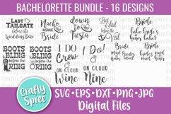 Bachelorette Party Bundle SVG DXF Design File Sublimation Product Image 1