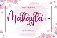 Makayla - Beautiful script Font Product Image 1