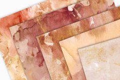 20 Seamless Watercolor Textures - Burnt Orange Backgrounds Product Image 6