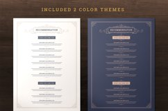 Restaurant Menu Template and Logo Product Image 6