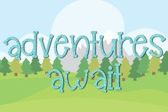 Glampers - A Fun Quirky Mixed Case Font Product Image 6
