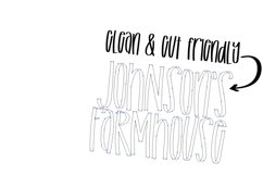Fluently - A Tall cut-friendly Font Product Image 5