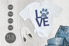 Dog Paw Print SVG Product Image 4
