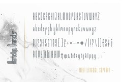 Marbellya Condensed Sans Serif Fonts Product Image 4