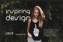 Nineland Modern Geometric Serif Font Product Image 5