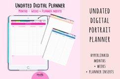 Undated Digital Planner in Portrait Orientation Product Image 3