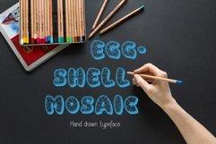 Eggshell Mosaic font Product Image 1