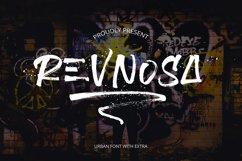 Revnosa Urban Brush Font Product Image 1