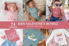 24 Kids Valentines svg bundle - kids valentines day shirt Product Image 3