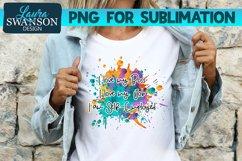 I Love My Boss, Job, I am Self-Employed PNG Sublimation Product Image 1