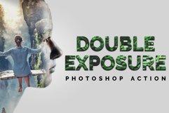 Double Exposure Photoshop Action Product Image 1