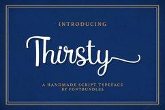 Web Font Thirsty Product Image 1
