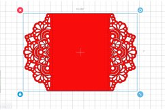 Wedding invitation template, Mandala invitation Product Image 3