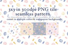 10 Confetti Tiles Seamless Pattern Product Image 3