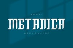 Web Font Metanica Font Product Image 1