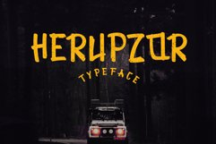 Herupzor Typeface Product Image 1
