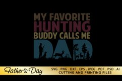 Dad Hunting SVG PNG DXF EPS Father's Day SVG Files Product Image 5