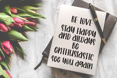 Beauty Sweeties | A Romantic Handwritten Font Product Image 5